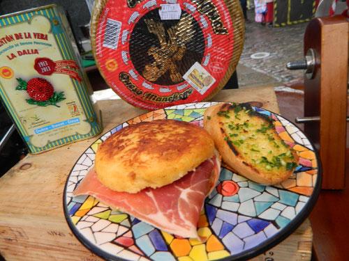 Iberico Ham Tortilla